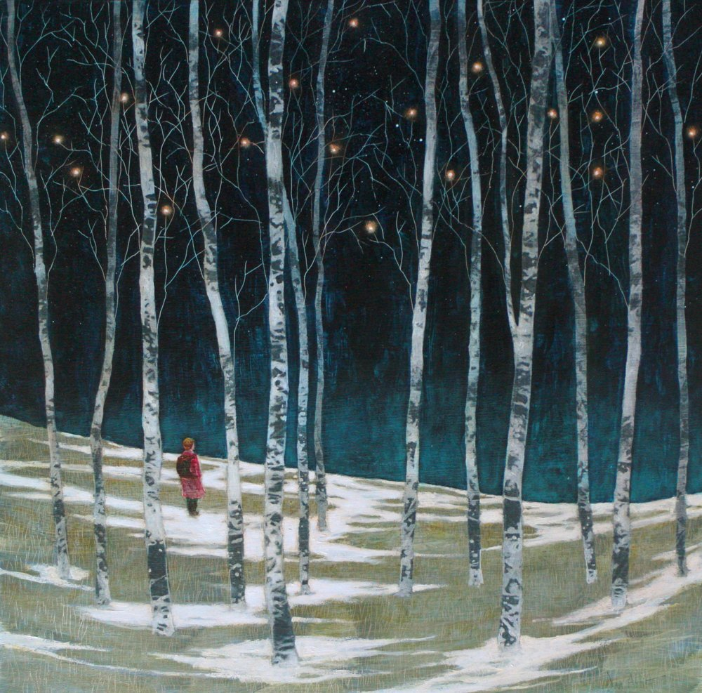 Waiting in the Birch Wood