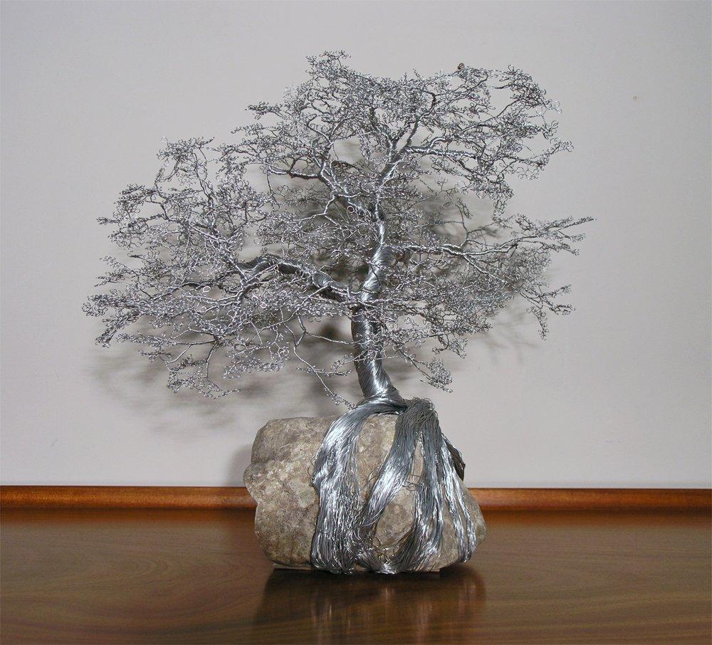 Wire Tree on Limestone