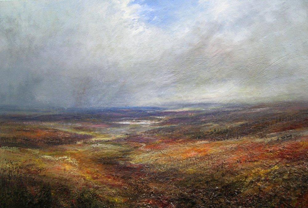 Moorland - Distant Reservoir