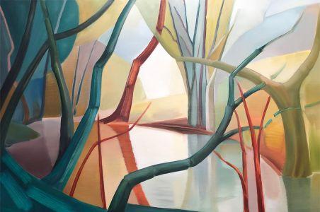 Lindsey Hambleton artist original collage Affordable Art Fair