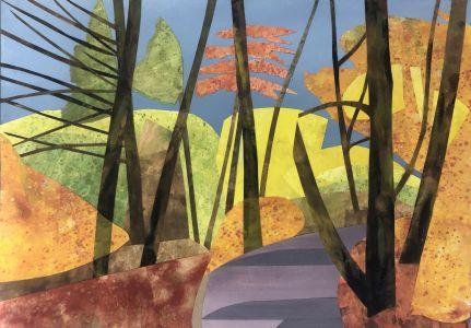 Lindsey Hambleton artist original oil painting Affordable Art Fair