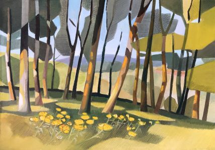 Lindsey Hambleton artist original oil painting