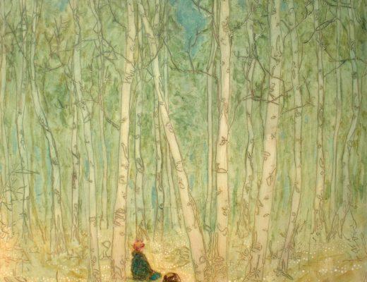 Daniel Ablitt 'Rest' original painting